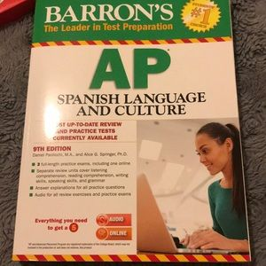 Brand new AP spanish Lang review book
